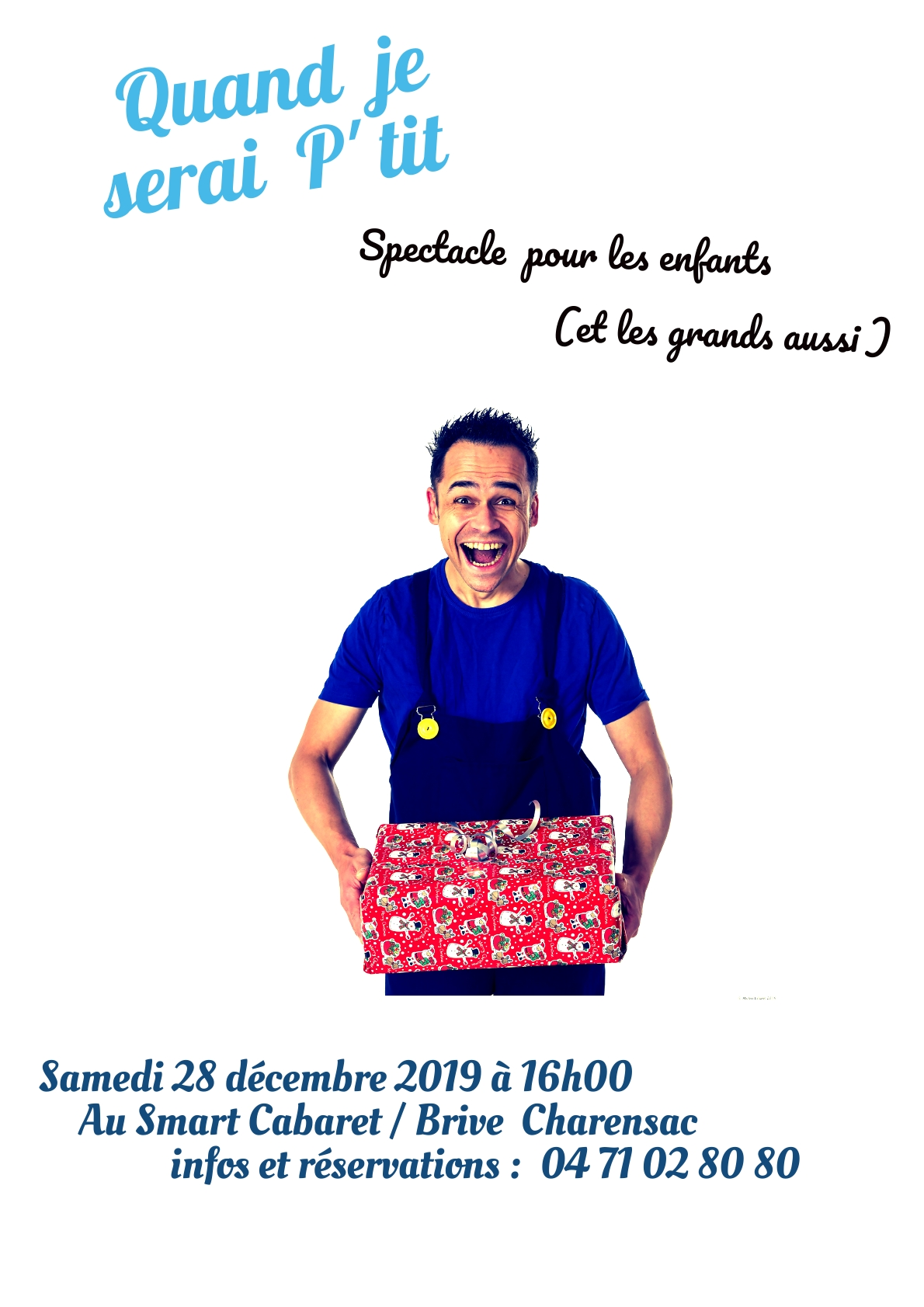 Affiche spectacle enfants smart cabaret